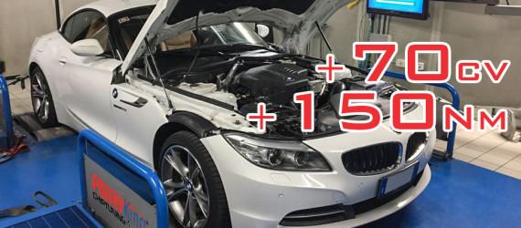 BMW Z4 20i 184cv rimappatura STAGE 1: estrema!